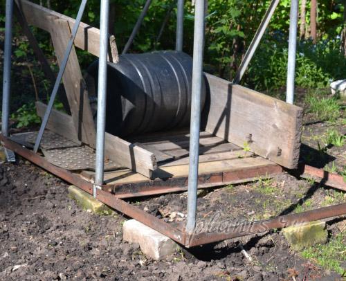 фундамент для душевой кабины на даче