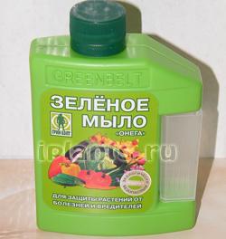 Зеленое калийное мыло