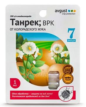 Танрек Врк Инструкция По Применению От Колорадского Жука - фото 3